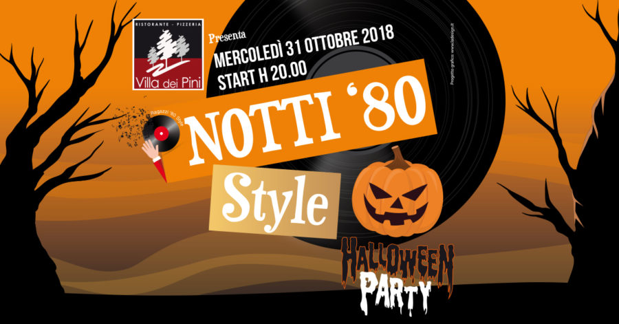 NOTTI 80′ STYLE HALLOWEEN PARTY