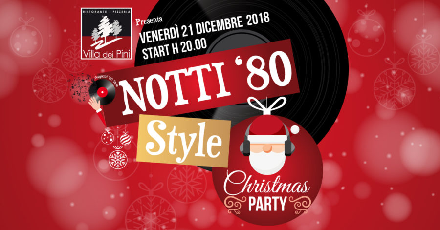 NOTTI '80 Style CHRISTMAS PARTY