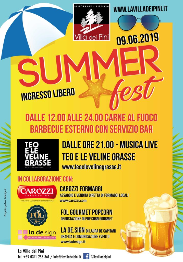 locandina summerfest 2019 717x1024 - SUMMER FEST 2019