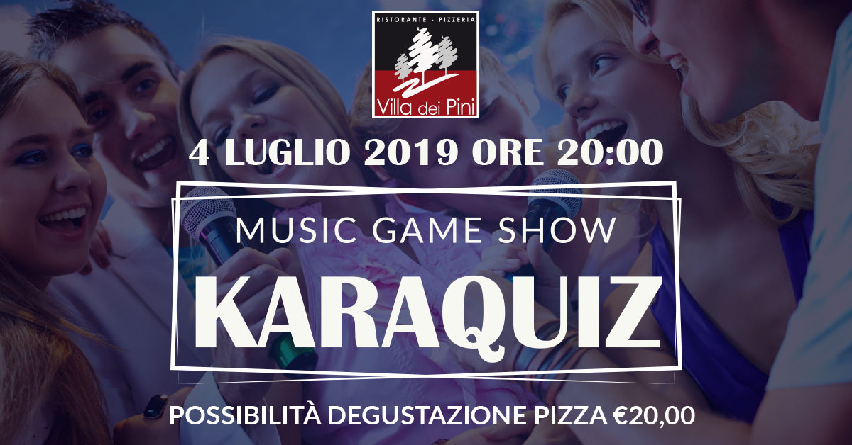 KARAQUIZ – MUSIC GAME SHOW 4
