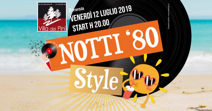 NOTTI '80 Style Summer Edition