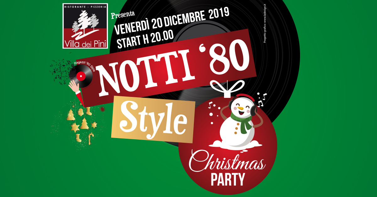 NOTTI '80 Style Christmas Party 2019